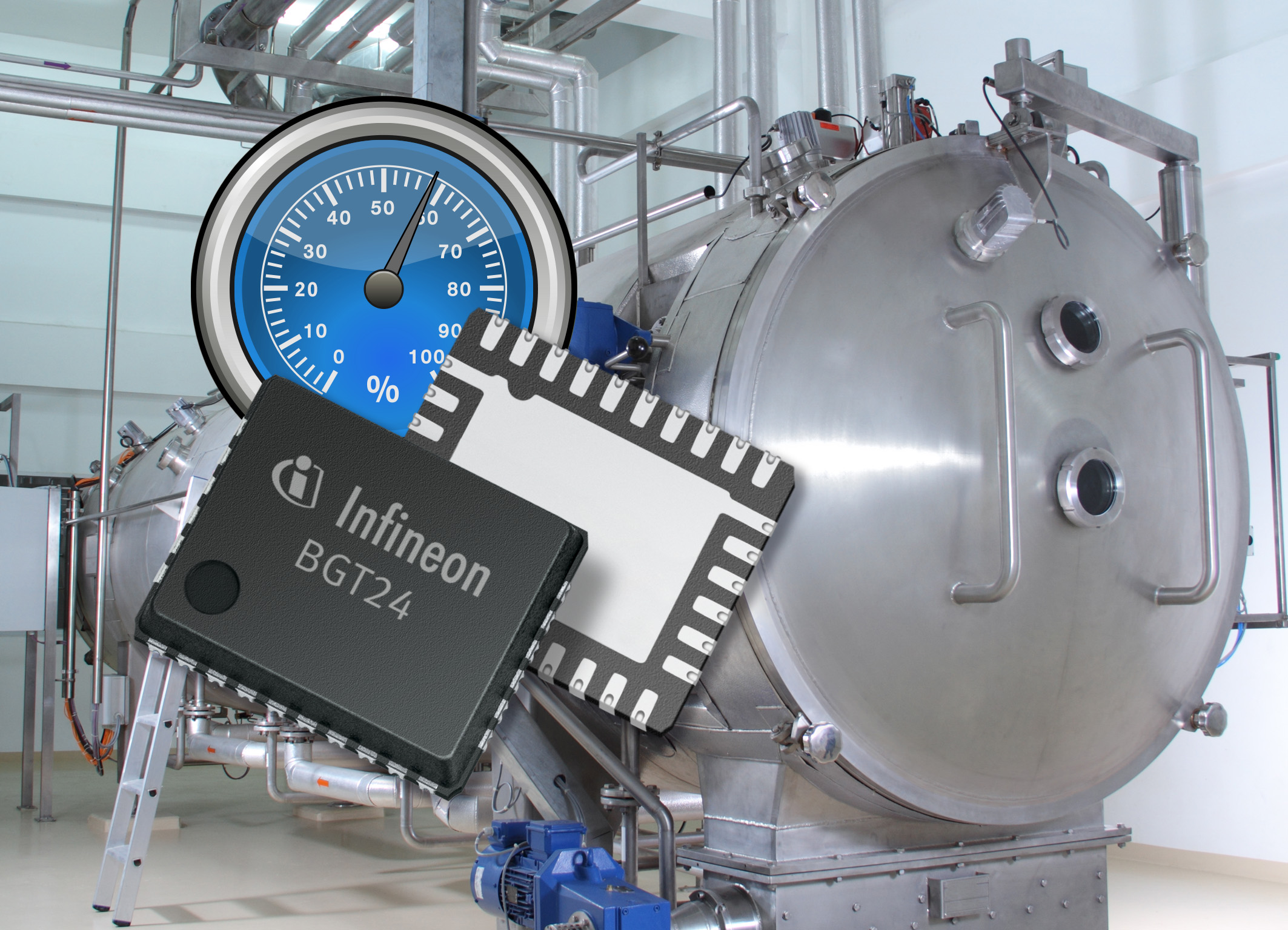 Infineon Introduces Single-Chip 24GHz Radar Solutions for Industrial