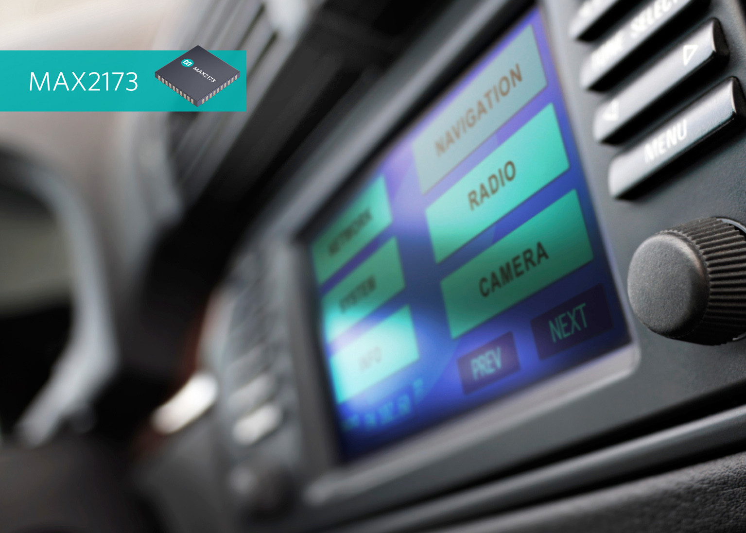 Digital Audio Broadcast Receiver (DAB) from Maxim Integrated Enables