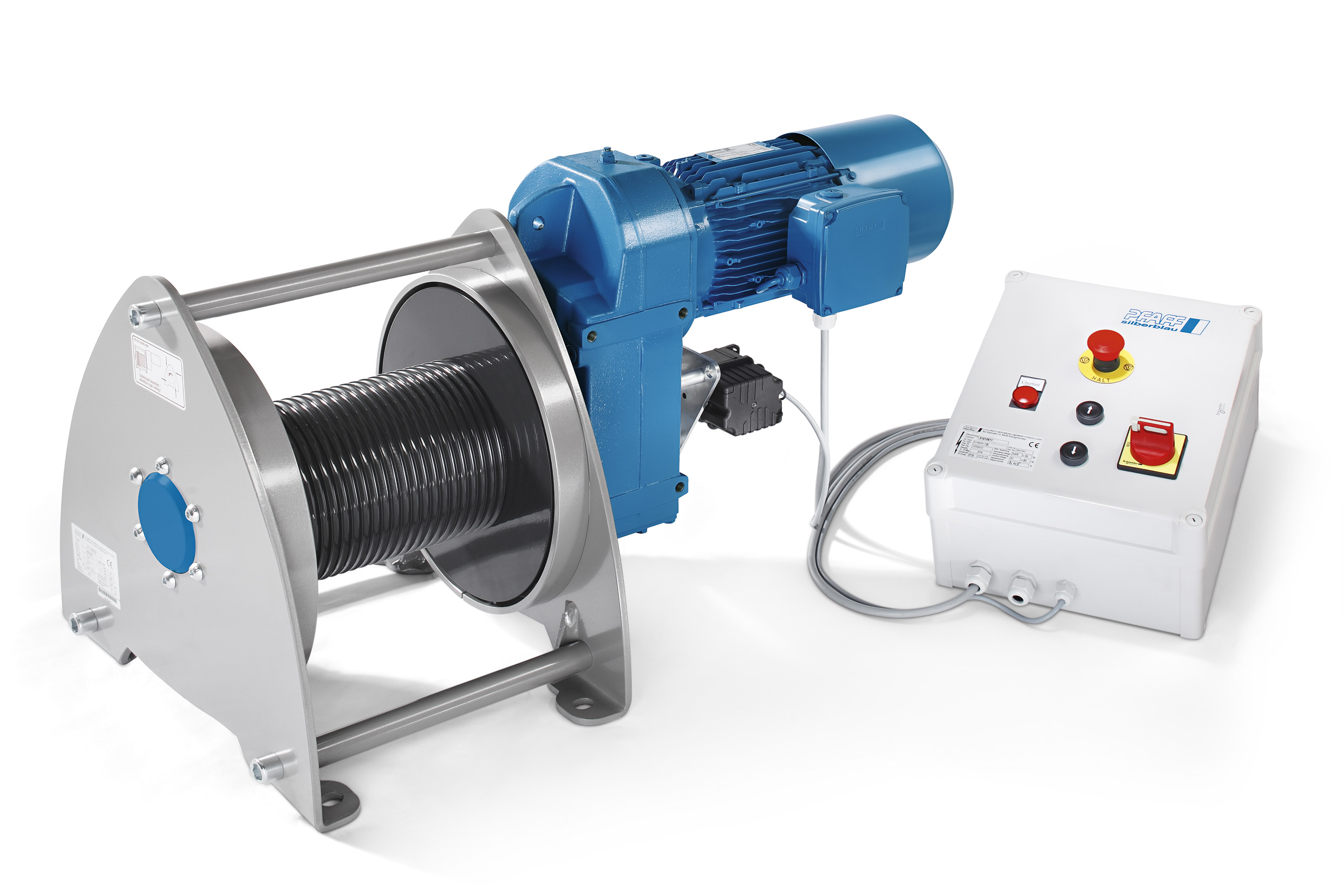 Versatile, safe, quickly available: The Pfaff-silberblau electric ...
