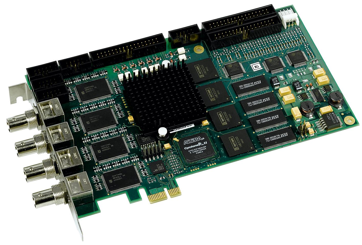 ELTEC bietet komplette Framegrabber-Familie für PCI Express